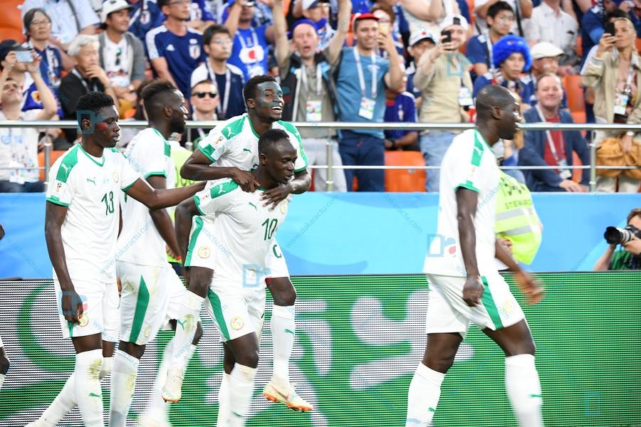 Russie 2018 : Album du match Sénégal/Japon à Ekaterinburg Arena