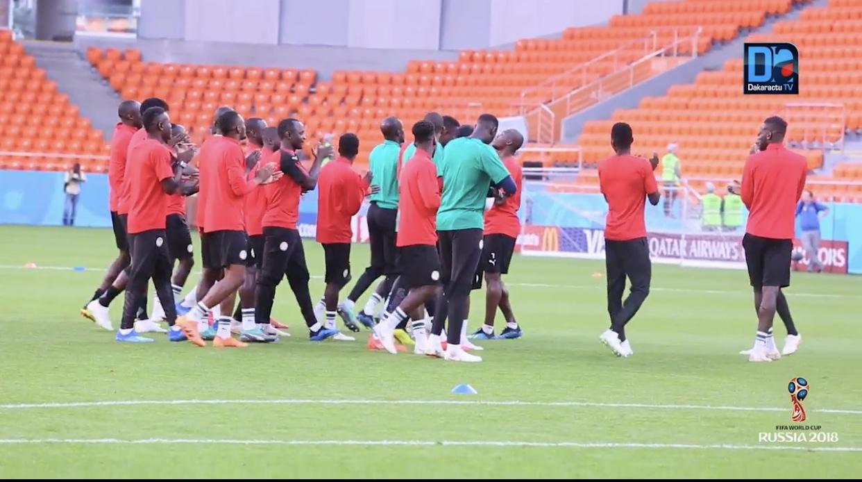 Pas d'entraînement au stade de Samara pour les Lions à la veille du match contre la Colombie