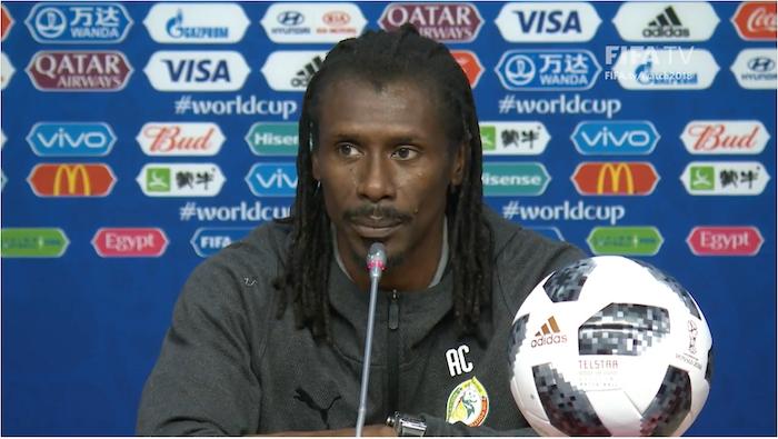 Aliou Cissé sur le cas Keïta Baldé : « Il peut commencer comme il peut rentrer en cours de jeu »