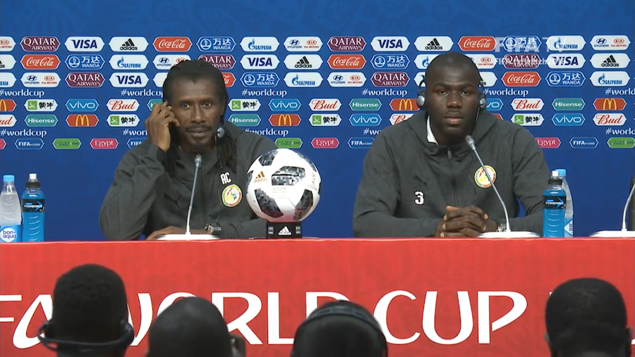 Aliou Cissé serein à la veille du match contre la Colombie : « Ce n'est pas une question de vie ou de mort.»