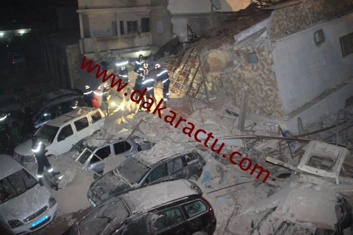 Médina rue 9x6 : Une partie d'un immeuble s'effondre après la pluie de ce mercredi.