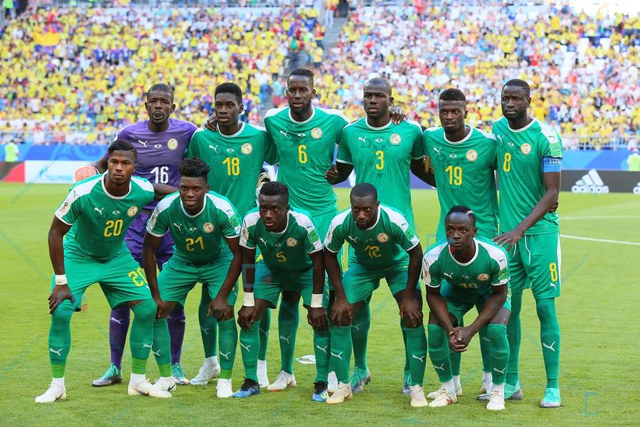 Compo : Les Lions en 4-4-2 avec Diao, Cheikhou et Gassama