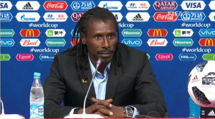Aliou Cissé sur le nombre de cartons : « Le Sénégal a un football engagé… C'est notre ADN… »