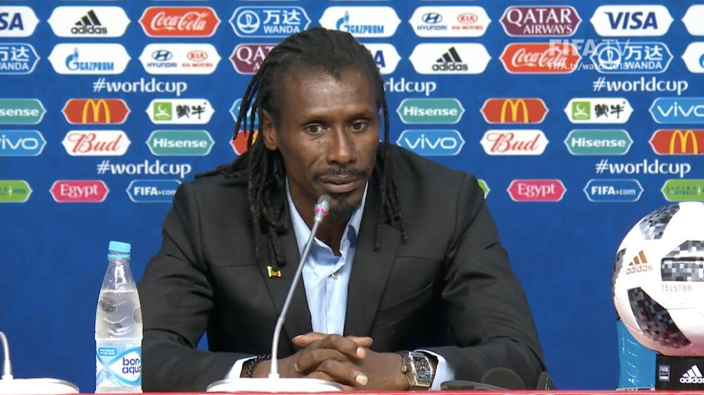 """Aliou Cissé : """"On n'a pas pu marquer ce but qui aurait tout changé dans le bon sens"""""""