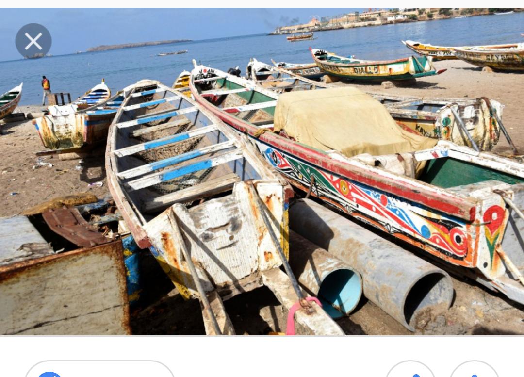 Thiaroye/Mer : Le chavirement d'une pirogue fait un mort et un porté disparu