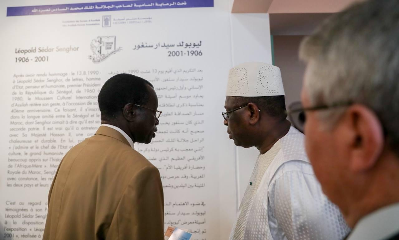 Dialogue afro-arabe : Macky Sall rend hommage à Senghor
