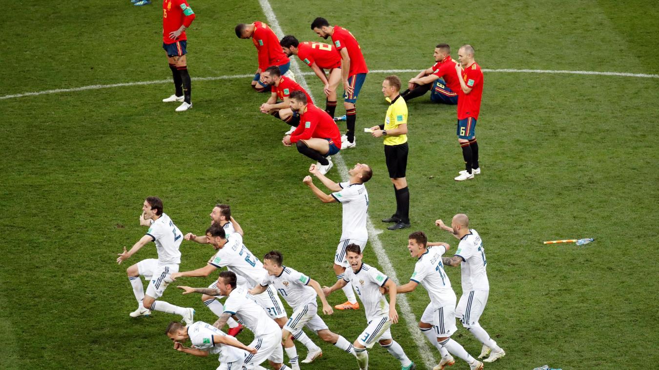 Coupe du monde : La Russie élimine l'Espagne aux tirs aux buts (1-1, 4-3 t.a.b.) et se qualifie pour les quarts de finale