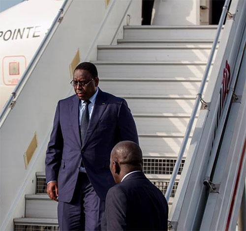SÉNÉGAL : Le président de la République Macky Sall est rentré à Dakar