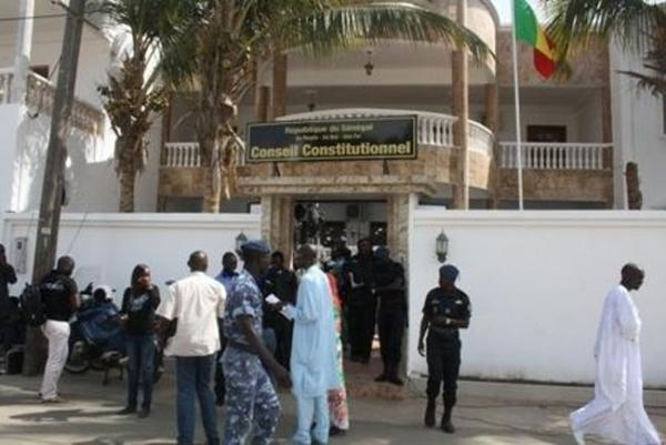RECOURS : Le Conseil constitutionnel valide le parrainage