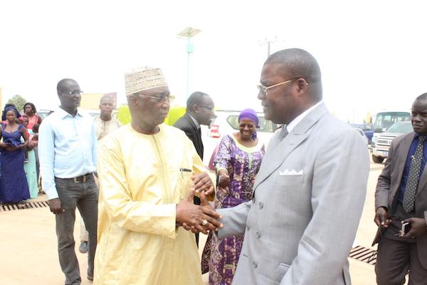 CISS AGRO À KABATOKI - Réception de la délégation des Nations-Unies et visite surprise du Président Macky Sall
