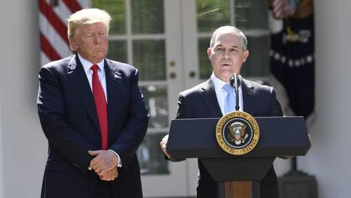 ETATS-UNIS : Donald Trump se sépare de son ministre de l'Environnement dans la tourmente