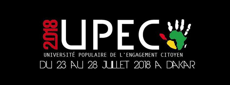 Université Populaire de l'Engagement Citoyen : Y en marre accueille 100 mouvements du 23 au 27 juillet
