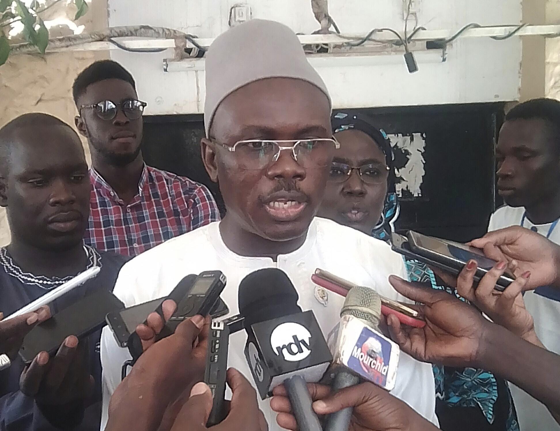 """Ousmane Cissé (Directeur des mines) : """"Pour aller en conquête politique, il faudrait avoir deux armes : un bon candidat et un programme bien défini. Ce qui manque à l'opposition! """""""