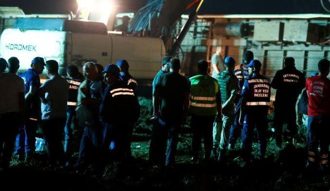 Turquie : le déraillement d'un train fait 24 morts et 124 bléssés