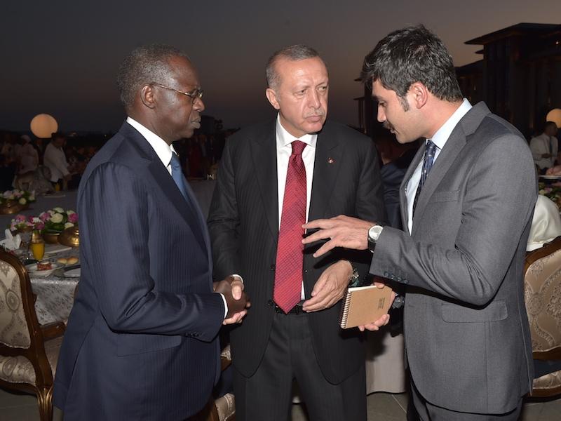En Images : Le Premier ministre sénégalais , Mahammed Boun Abdallah Dionne à la cérémonie d'investiture du président Turc , Recep Tayyip Erdogan