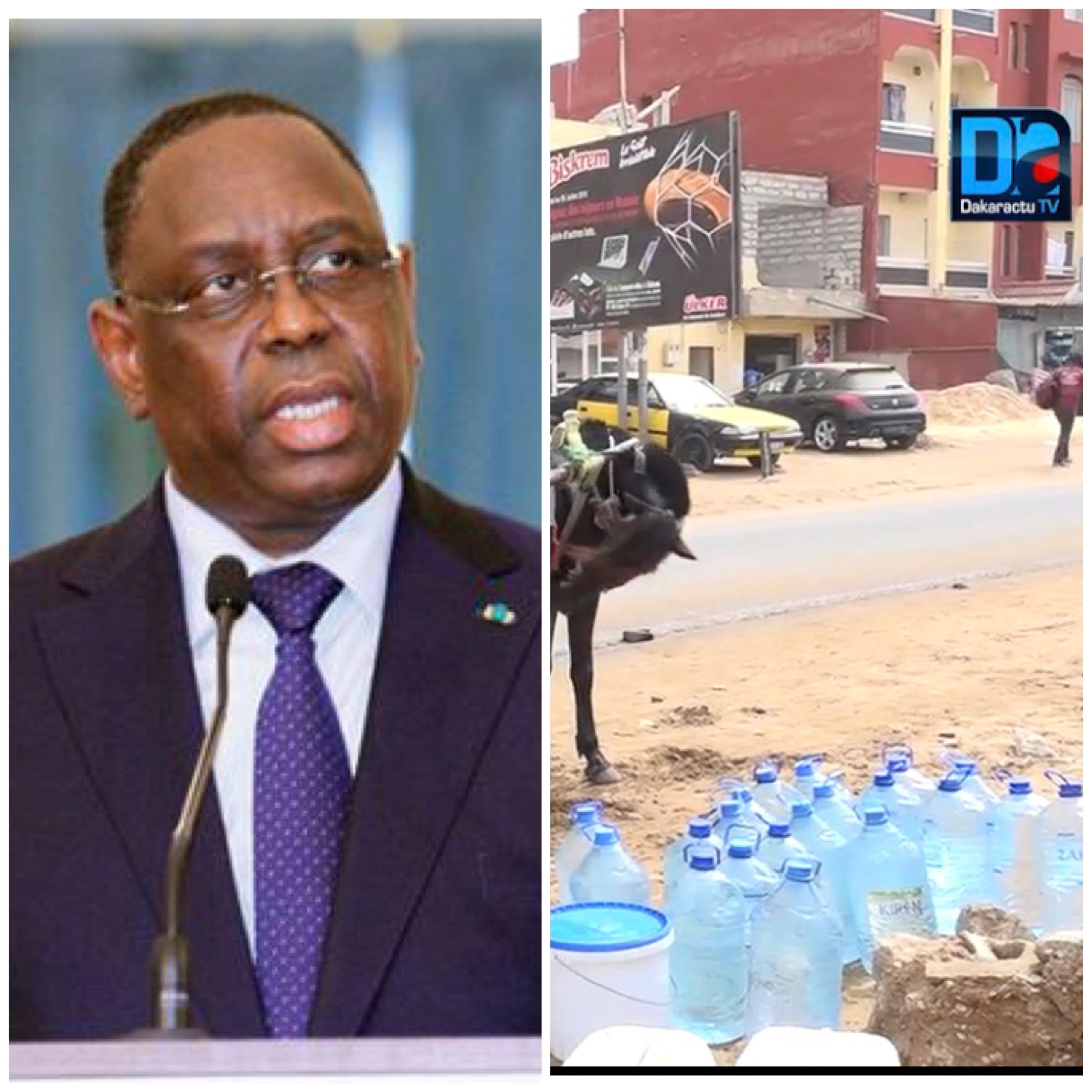 Pénuries d'eau sous Macky Sall : qui est responsable du Watergate ?
