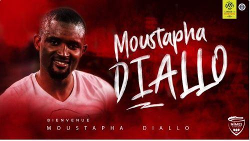 Officiel : Nîmes s'offre Moustapha Diallo