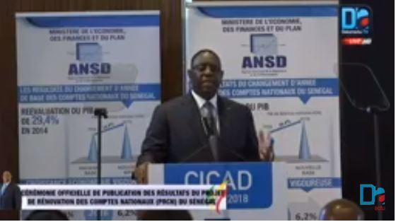 « Les statistiques sont une affaire de professionnels...on ne peut pas mettre la politique dans la science » Macky Sall