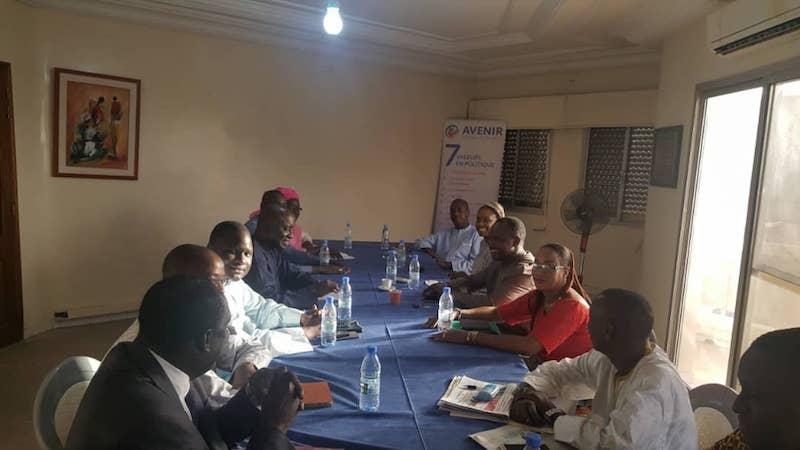 Visite d'une délégation du parti Rewmi à la Plateforme AVENIR Senegaal Bi Nu Begg