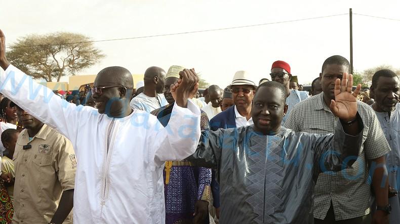 Ngourane : Aliou Sall reçu à grande pompe ( IMAGES )