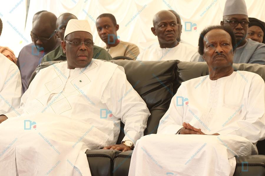 Les  images de la présentation des condoléances de Macky Sall à Baba Diao