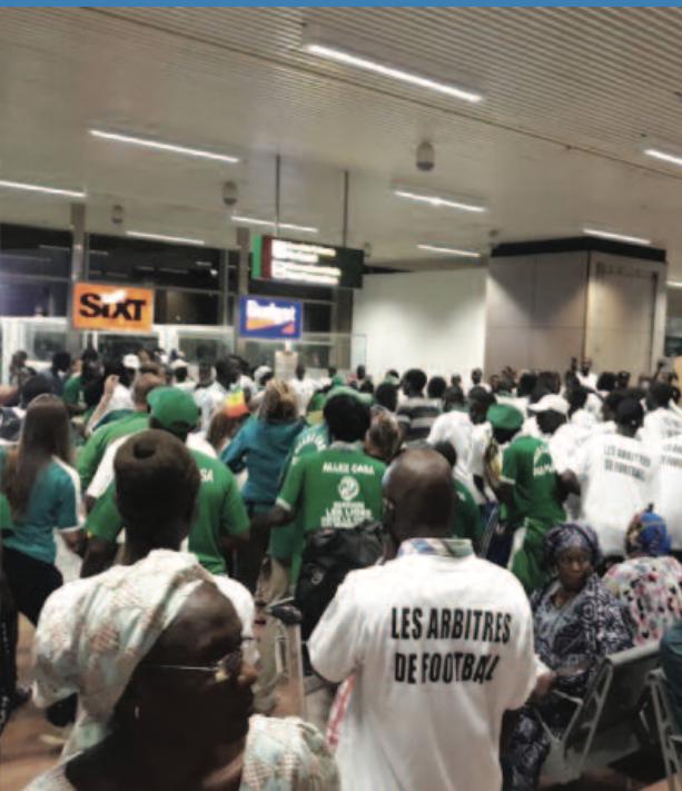 AIBD : Malang Diédhiou accueilli en héros