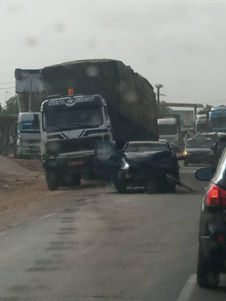 Urgent : Un autre accident sur la route de Mbour