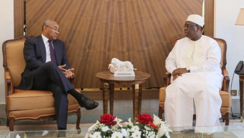 Mondial : Le Président de la CAF félicite le Sénégal pour sa participation et annonce l'organisation du prochain Awards du foot au Sénégal