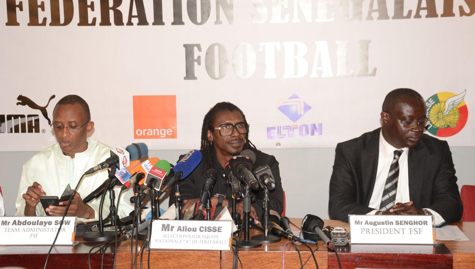 CM 2018 : Aliou Cissé et Augustin Senghor au séminaire d'évaluation de la CAF à Rabat, ce week-end