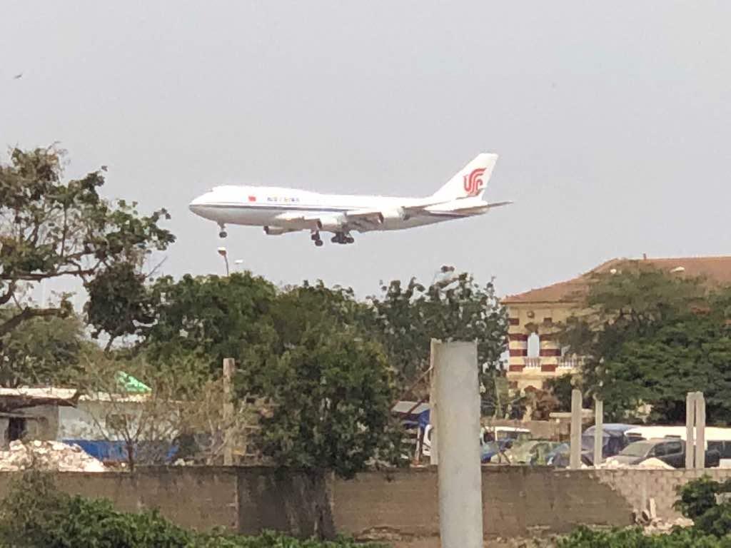 Visite de Xi Jinping au Sénégal : Arrivée de la délégation chinoise