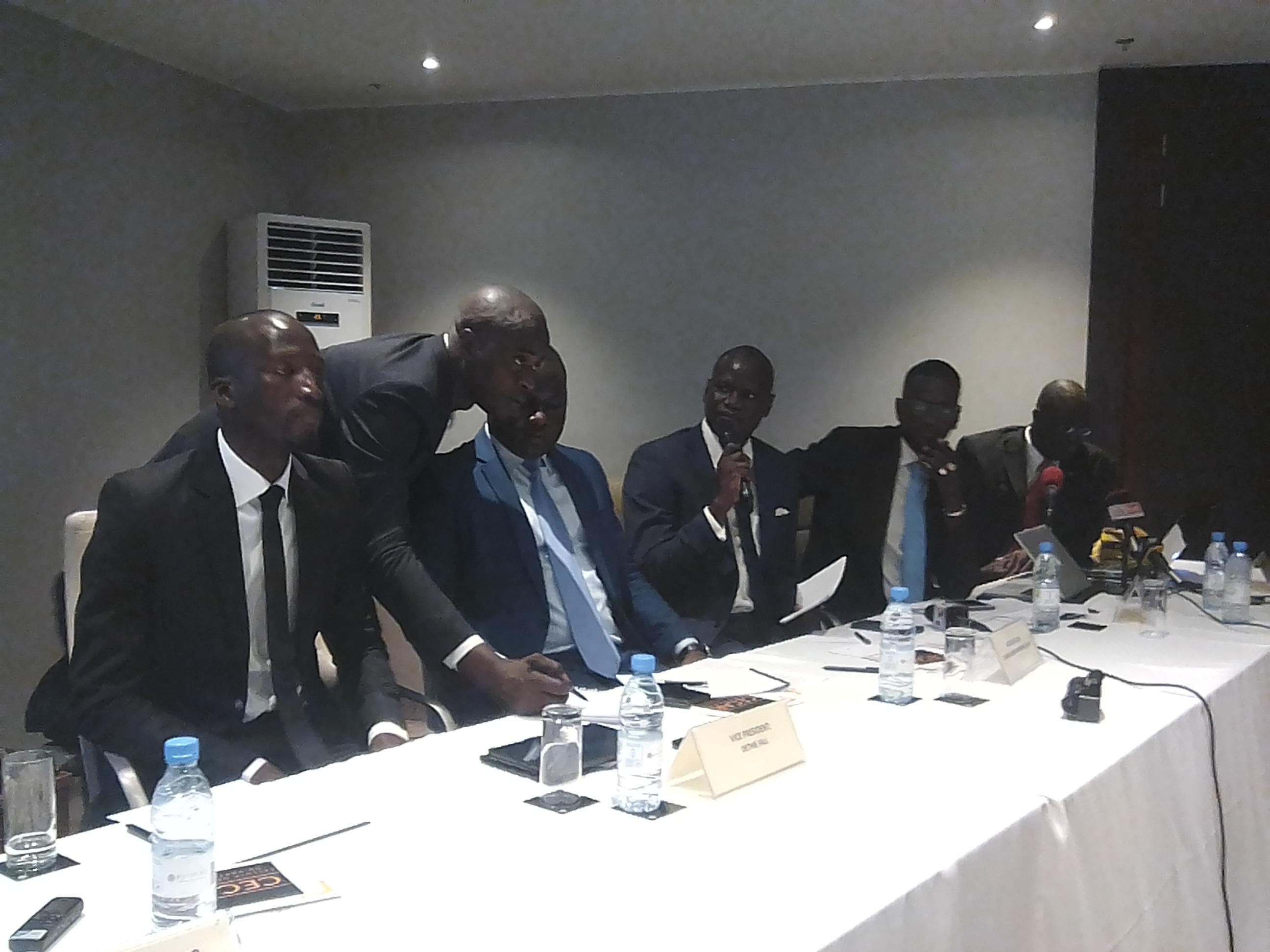 """Conférence du parti Rewmi sur l'économie sénégalaise : """" Il faudra geler les accords de pêche que le Sénégal a signés avec les tiers"""" (Pape Gora Fall)"""