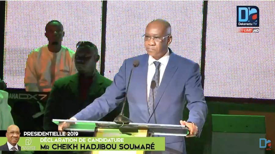 Pm de Wade lors du lancement des Assisses en 2008 : Haguibou s'engage auprès de Amadou Makhtar Mbow et Cie