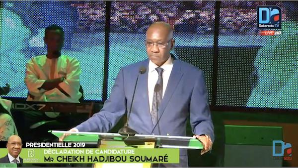 """Hadjibou Soumaré : """"Le constat largement partagé est que notre pays n'avance pas, alors que notre économie recule et notre démocratie perd son influence..."""""""