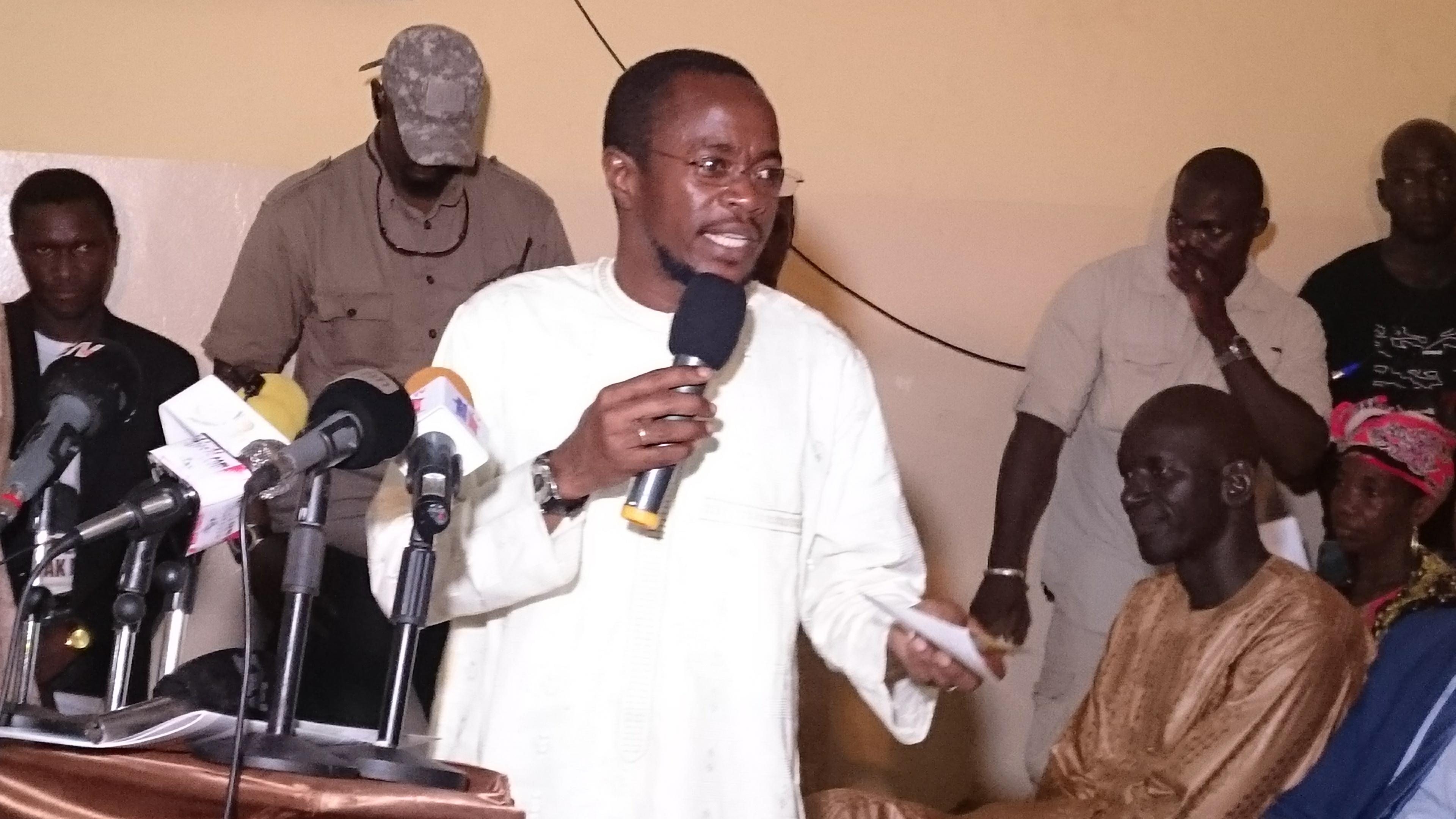 Abdou Mbow, responsable politique à Thiès : «En 2012, notre coalition a eu 7%, mais lors des dernières élections on a raflé la mise avec un taux de 41%»