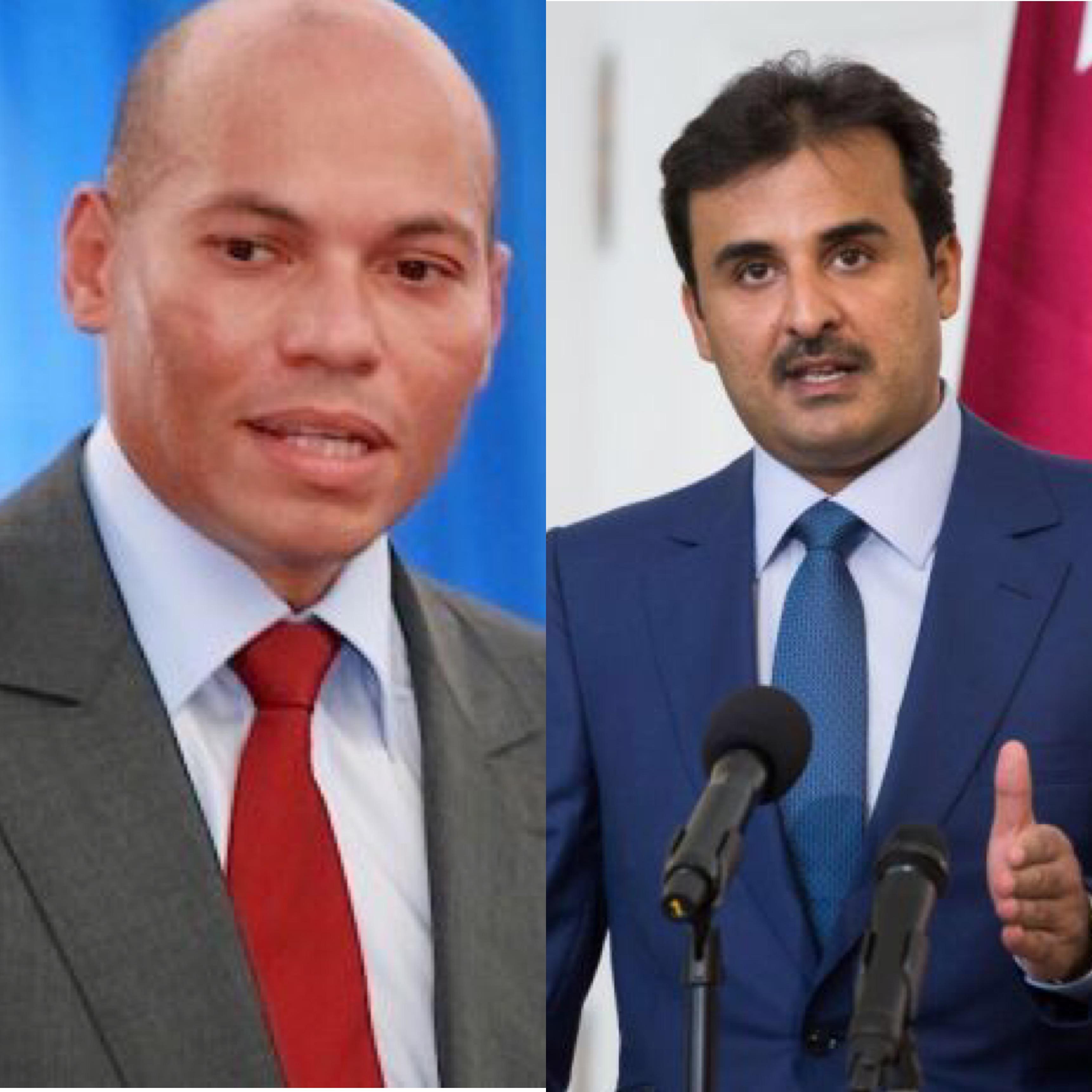 Refus de s'ingérer dans les affaires intérieures du Sénégal : l'émir du Qatar a-t-il lâché Karim Wade ?