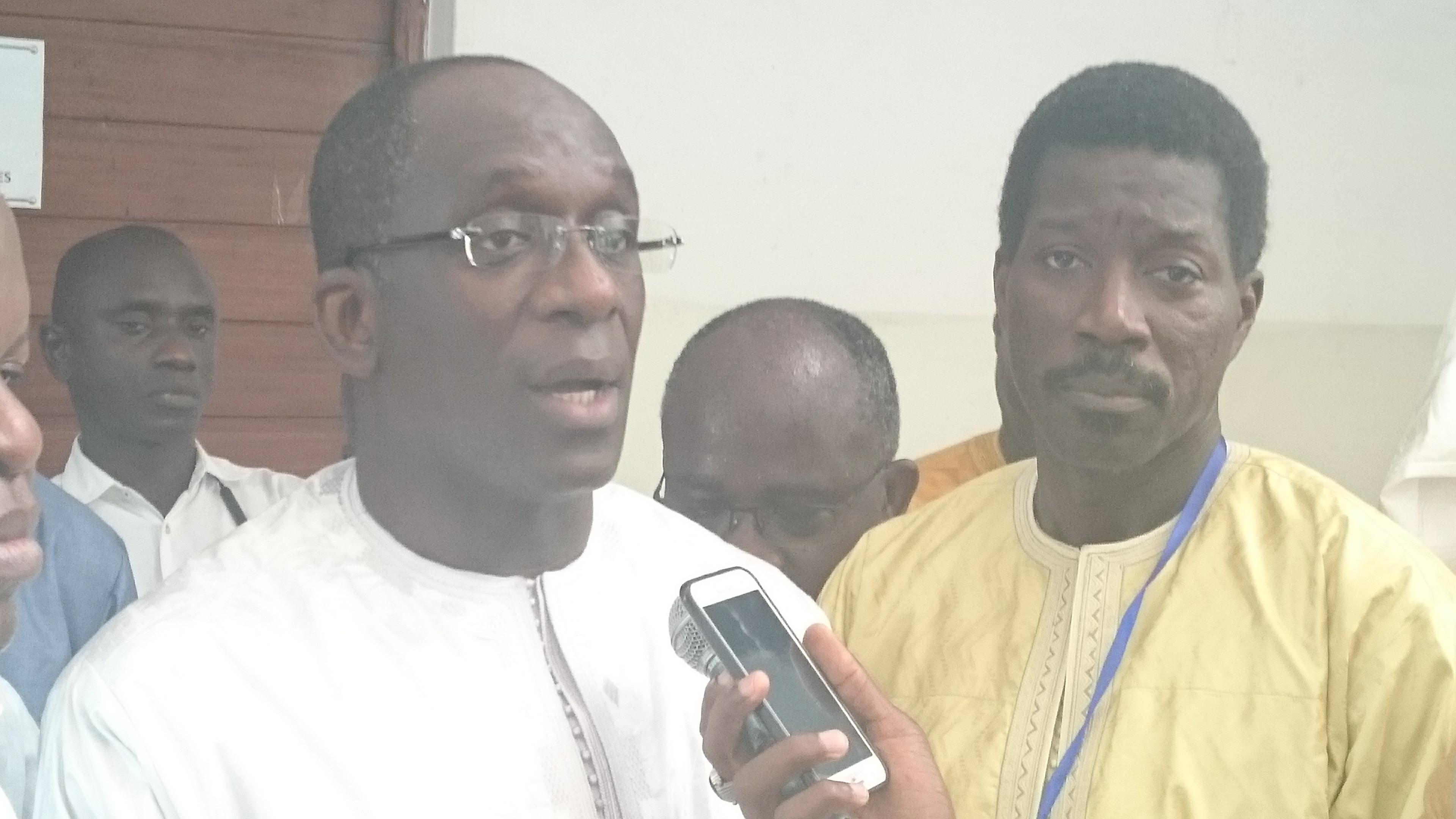 """Abdoulaye Diouf Sarr, ministre de la santé : """" Au niveau de Thiès, un travail important est prévu pour faire en sorte que cette ville soit un hub en matière de santé... """""""