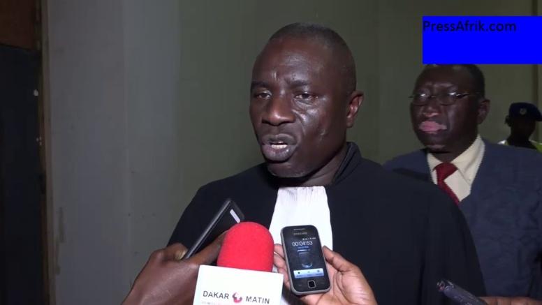 """Procès Khalifa Sall : Me Ousseynou Gaye demande à Me Ousmane Sèye de """"se débarrasser de sa robe marron-beige"""""""