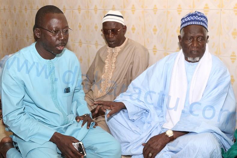 Grand Yoff : Mora Cissé contribue en don de ciment à la construction de la mosquée de Darourahmane 1 ( IMAGES )