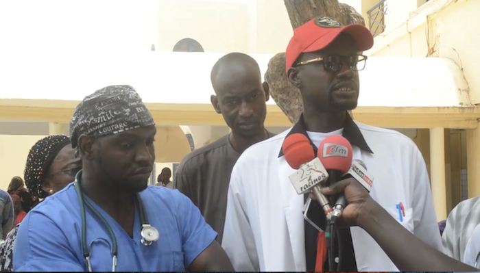 HOPITAL REGIONAL DE SAINT-LOUIS : Les travailleurs en sit in pour exiger l'audit de la structure sanitaire