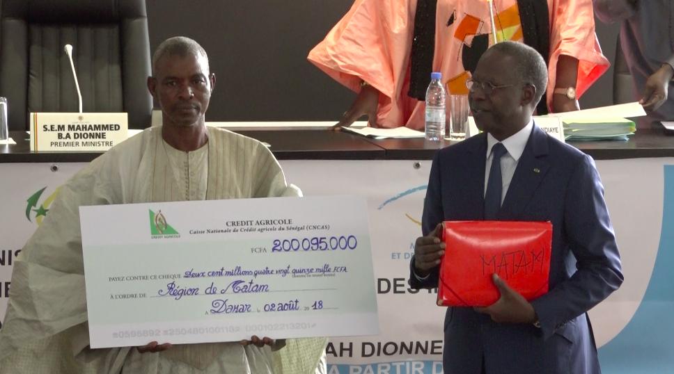 Diamniadio : Un milliard distribué aux éleveurs victimes des intempéries