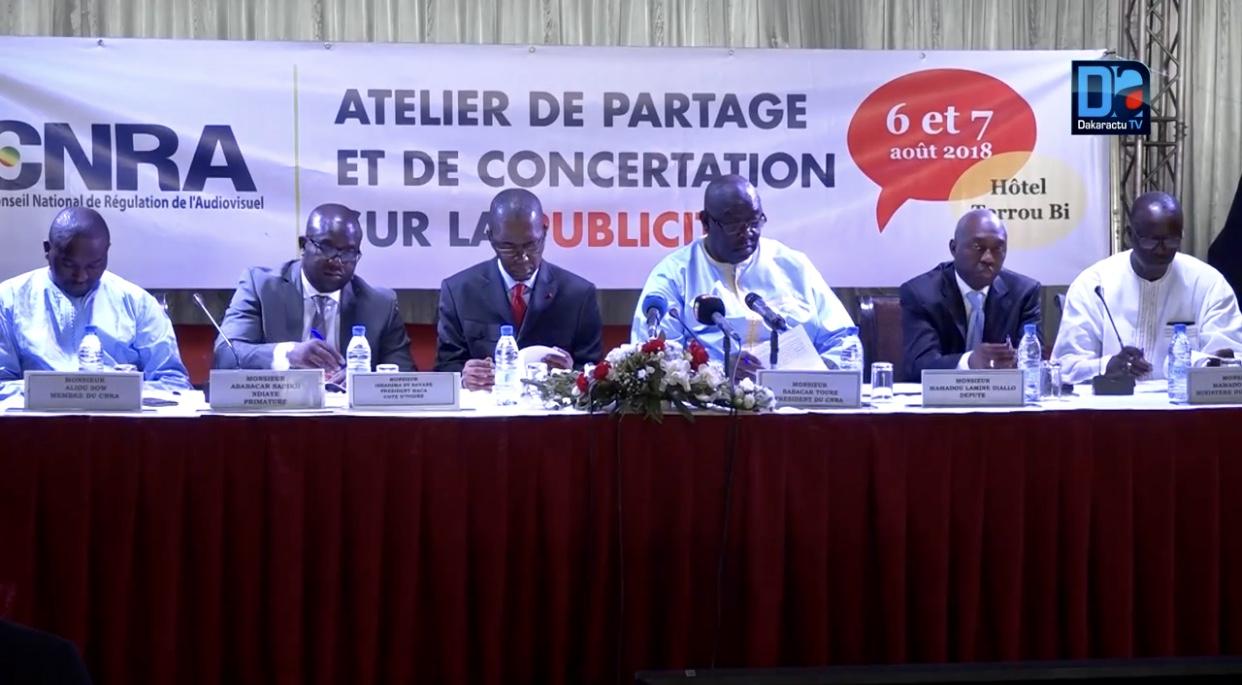 """""""La publicité est devenue un monde sans loi au Sénégal"""" (CNRA)"""