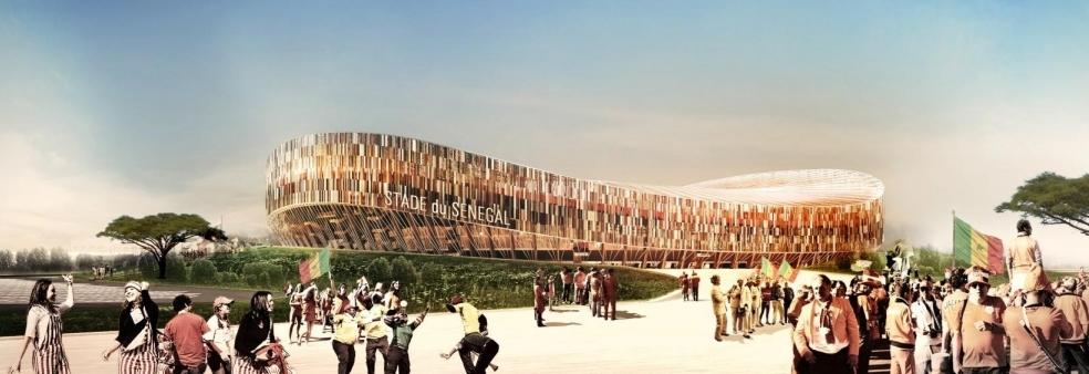 """Résultat de recherche d'images pour """"stade olympique de diamniadio"""""""