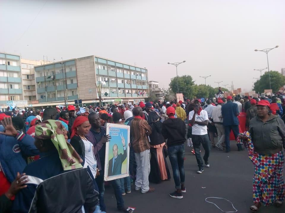 Marche de l'opposition dans la banlieue ce 12 août 2018 : les jeunes en première ligne (Déclaration)