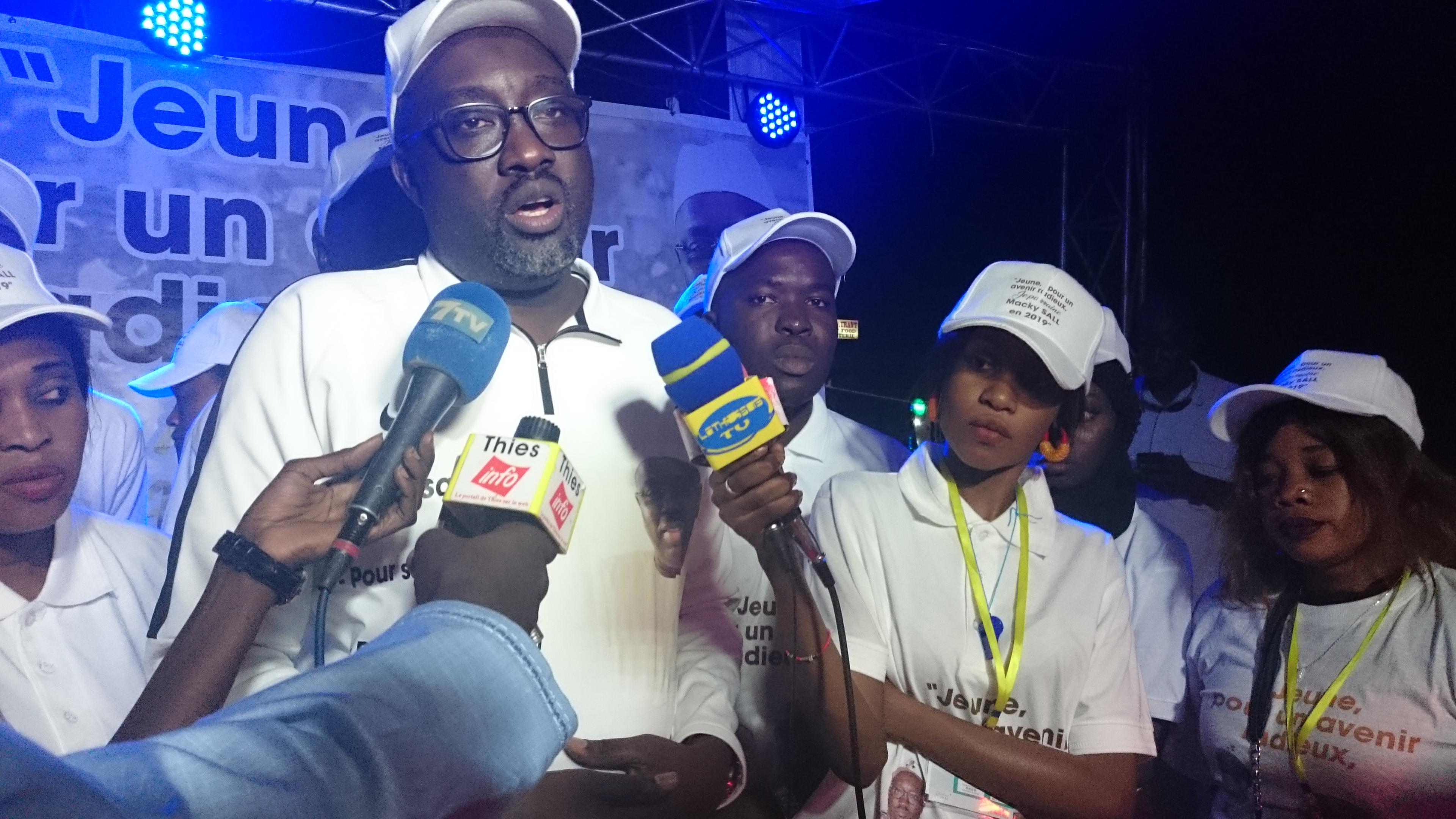 Thiès : Le mouvement Gem Sa Bopp lance les J.P.M (Jeunes Parrains de Macky)