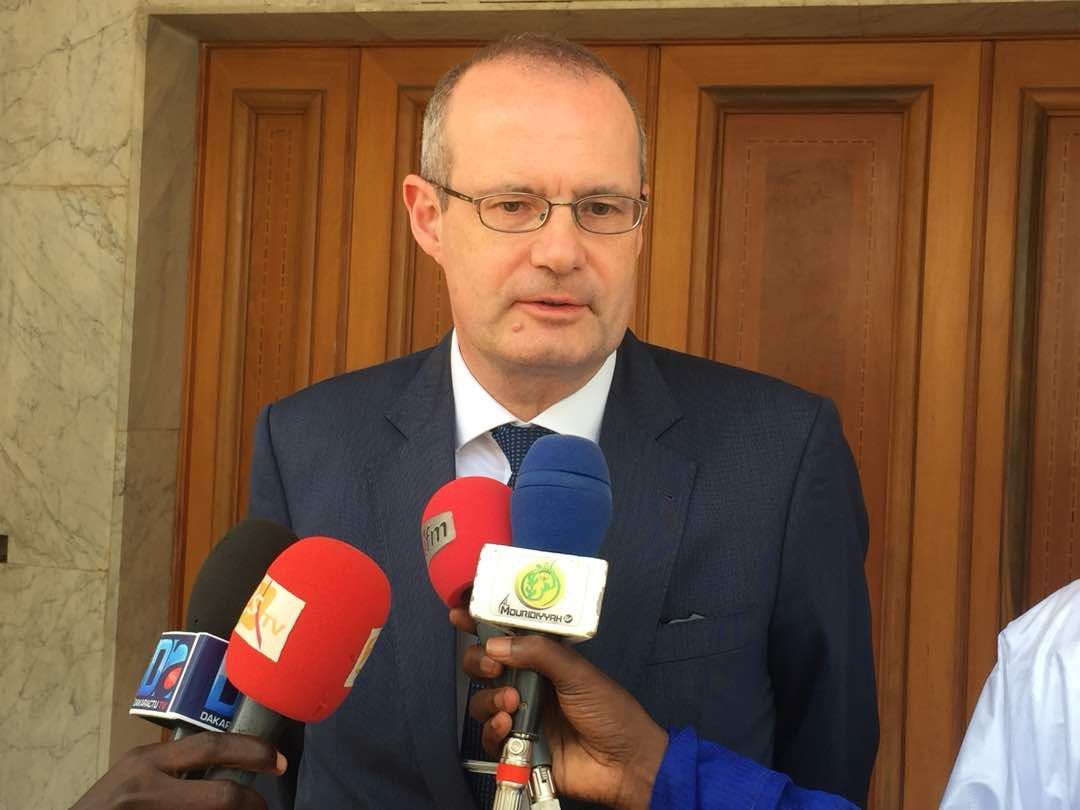 TOUBA / Stéphan Röken, Ambassadeur d'Allemagne au Sénégal, reçu par Serigne Mountakha Mbacké