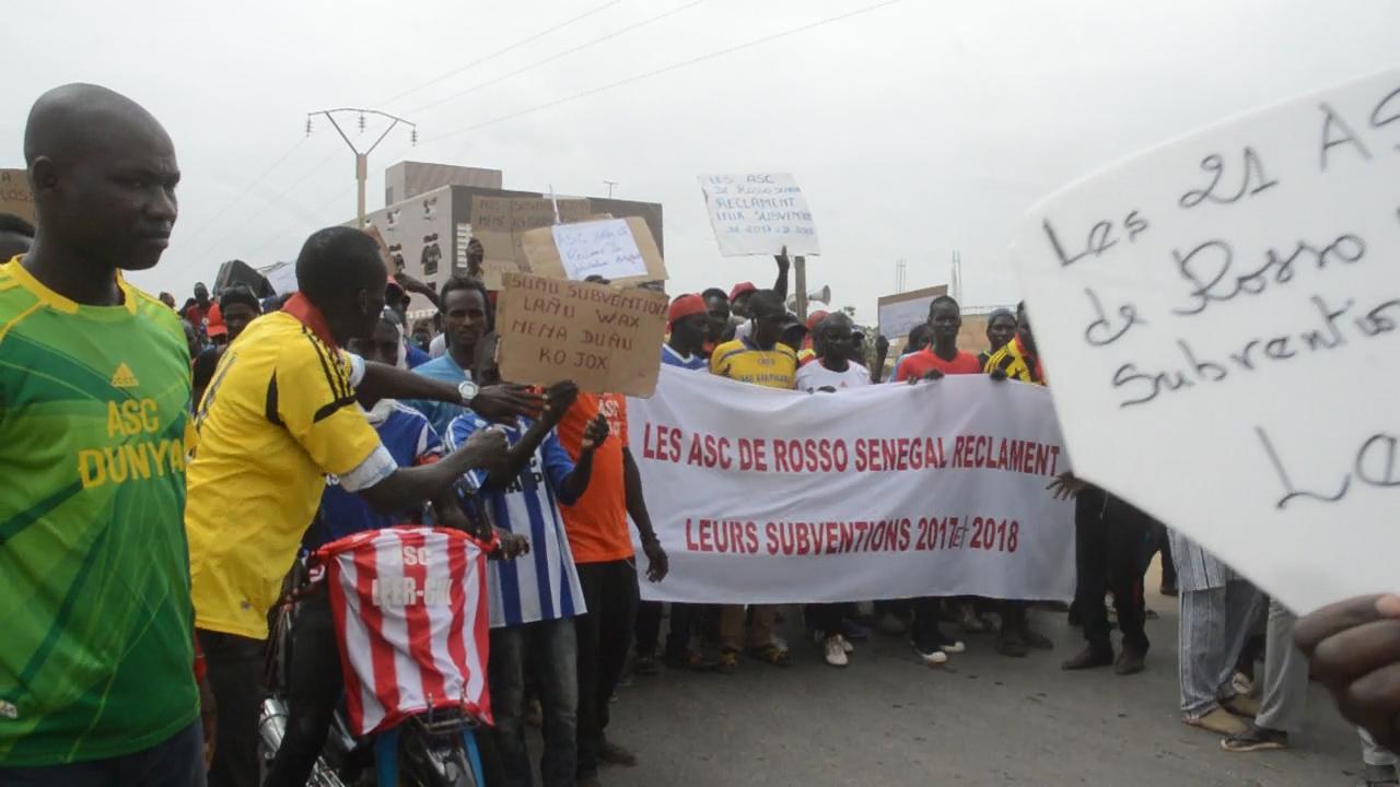 Commune de Rosso Sénégal : Les Asc réclament des arriérés de subventions de 3 ans