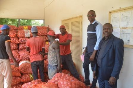 SAINT-LOUIS : 50 tonnes d'oignons importées saisies par le service régional de commerce