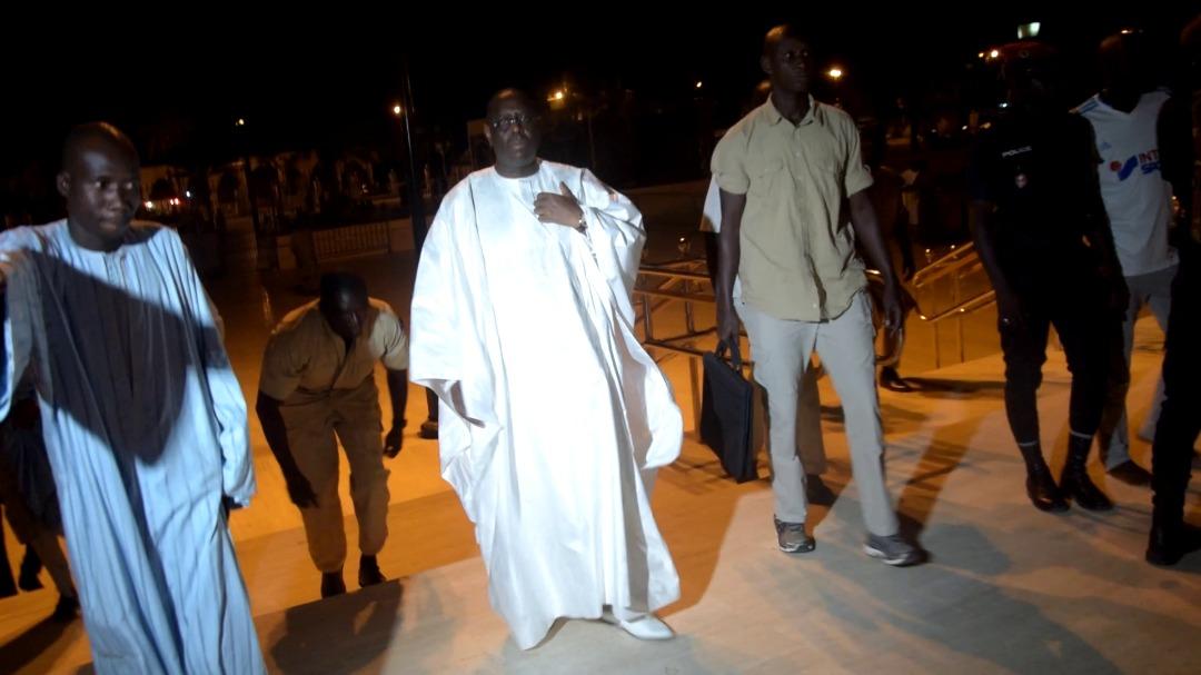 VISITE PRIVÉE DU PRÉSIDENT À TOUBA - Un tête-à-tête de 90 mns avec le Khalife