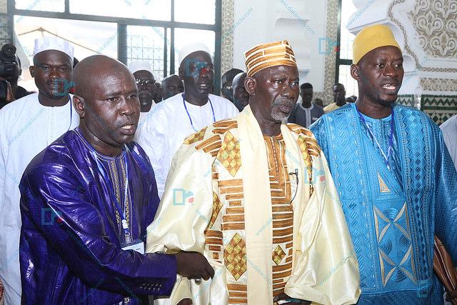 Les images da la célébration de la Tabaski à la grand mosquée de Dakar