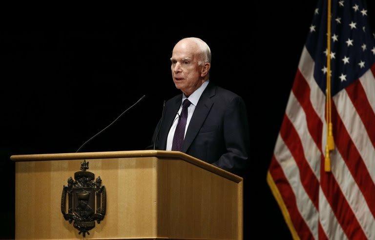 Etats-Unis: John McCain, le sénateur républicain, est mort à 81 ans